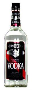 Barton Vodka 80@ 1.00l - Case of 12